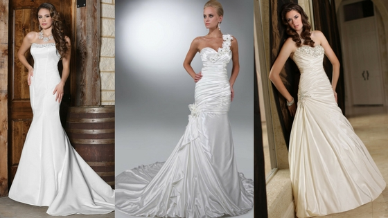 Hollywood Glam 12 Dreamy Satin Wedding Gowns
