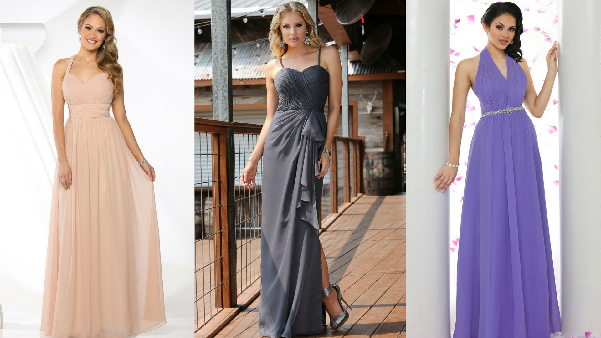 Romance is In the Air- 14 Soft Chiffon Dresses for Your Attendants